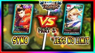 Chou vs Fanny (Syno vs Jess No Limit) | Mobile Legends