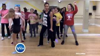 Bucks County Dance Center Rocks The #ViewSlide | The View