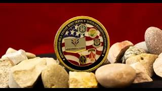 Challenge Coins: Custom Military Coin Rotating