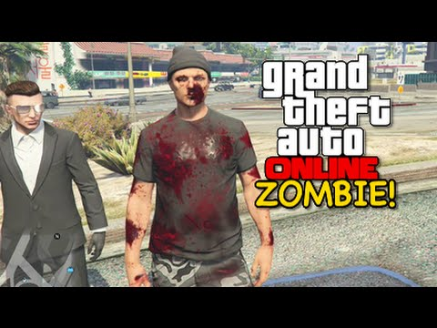 I'M A F#%KING ZOMBIE! [GTA 5] [ONLINE] [HILARIOUS!]