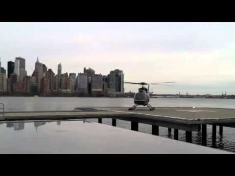 Helicopter at Paulus Hook