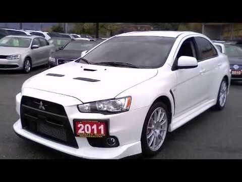 2011 Mitsubishi Lancer Evolution GSR SPOILER 18ALLOYS Sedan  Call Now     1 (866) 980-4721