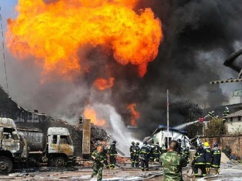 Gas Effect After China Explosion, Tianjin