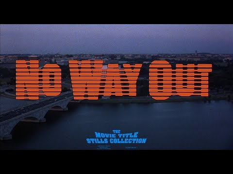 No Way Out (1987) Title Sequence