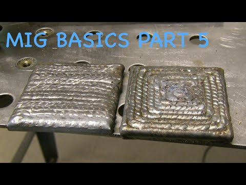 Mig Welding Basics Part 5 Practice Youtube