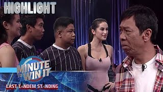 Long at Negi, nakilala ang mga boyfriend nina Franki at Diana | Minute To Win It