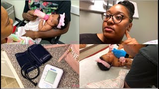 SHOTS & HIGH BLOOD PRESSURE   STAY AT HOME MOM VLOG   Destiny's Life