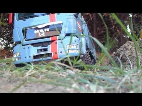 INCREDIBLE RC TRUCK !!! SCALEART TRUCK MAN 6x6 CHALLENGER