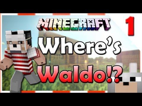 Minecraft - WHERE'S STEVEN!? (Where's Waldo Mini-Game) Part 1/3