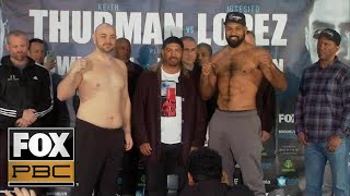 Gerald Washington vs Adam Kownacki | WEIGH-INS | PBC ON FOX