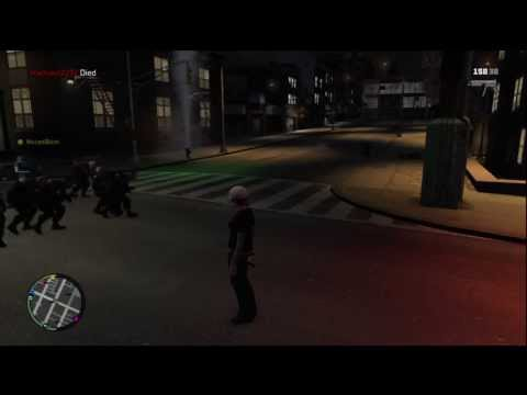 GTA 4 Crazy Cop Spawning Mod SWAT Army(Must See!)