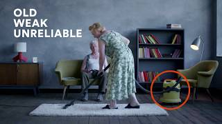 Advantage – The World's First BAGLESS Commercial Back Pack Vacuum Cleaner (20 Sec)