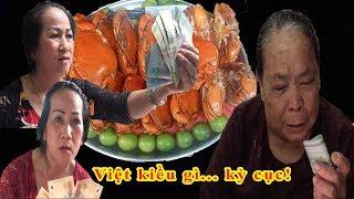 Cua dì 3: Cộng đồng 'mắng' những Việt kiều cho tiền mừng thọ dì 3 rồi đòi lại - Guufood