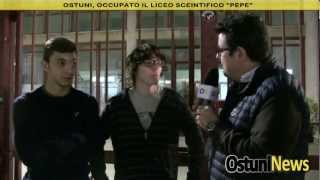 Occupazione Liceo Scientifico Ostuni 2012