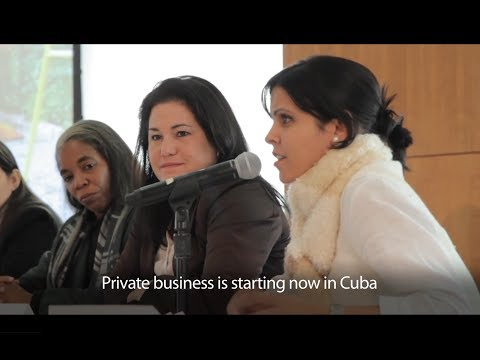 Cubans in the New Economy: Their Reflections and the U.S. Response