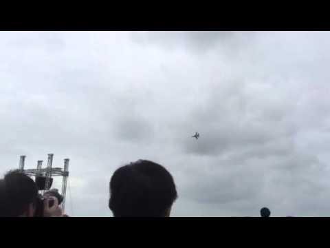 Singapore Airshow 2016: Republic of Korea Air Force Black Eagles T-50 Part 1