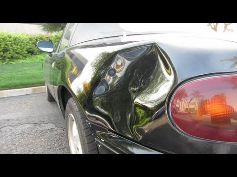 Monster Miata Dent Repair San Diego   Glue Pull   Dent Time