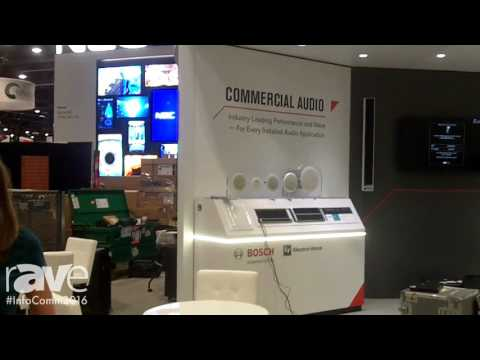 InfoComm 2016: Bosh Intros Commercial Audio