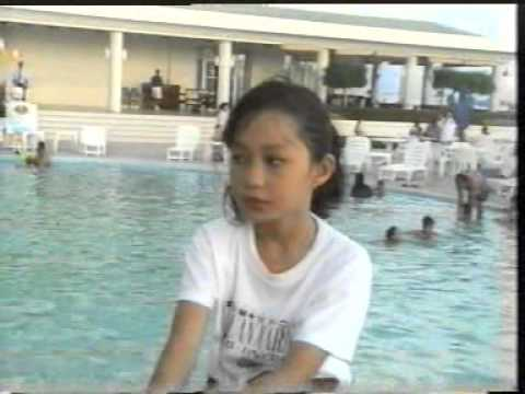 Melissa Francis 1st Iban Song Cover 1994 video