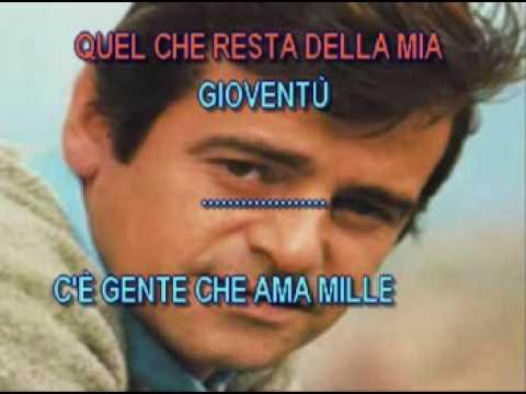Sergio Endrigo   Io Che Amo Solo Te