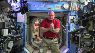 "Space Station Crewmember Scott Kelly Talks to the ""Today Show"" and Social Media Followers"