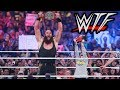WWE WrestleMania 34 WTF Moments   Nicholas, The Undertaker & Brock Lesnar Do Unexpected Things