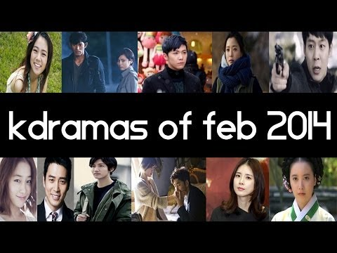 Top 10 New 2014 Korean Dramas [ February ] - Top 5 Fridays