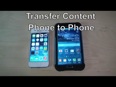 How to Transfer Content And Contacts From IPhone To Galaxy S5 Wirelessly