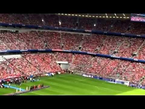 9.8.2014 - FC Bayern München Spielervorstellung LIVE Allianz Arena