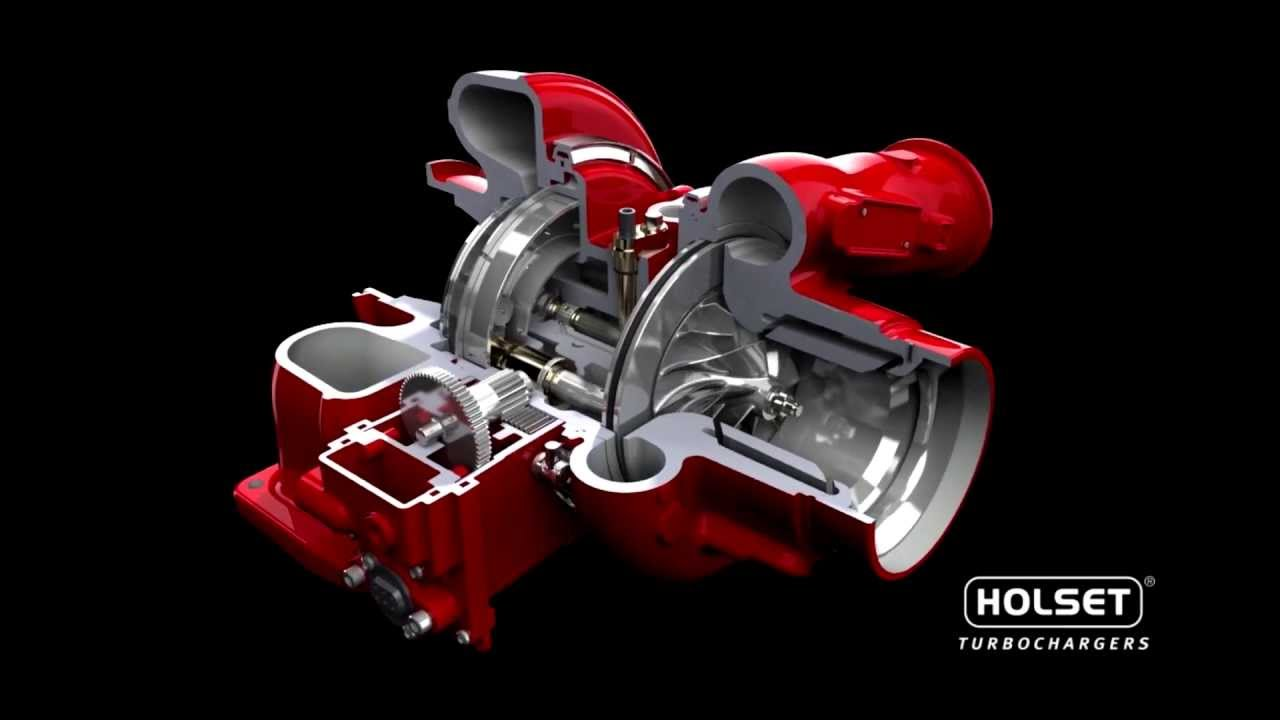 Cummins Turbo Diesel >> Cummins Turbo Technologies HE400VG - Animation - YouTube