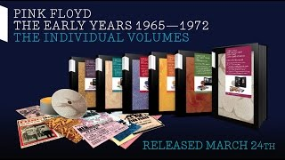 Pink Floyd - The Early Years: The Individual Volumes (Unboxing Video)