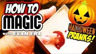 10 Halloween PRANKS! - How To Magic!