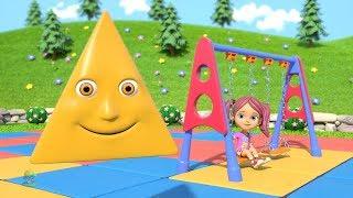 Learn Shapes | Kindergarten Nursery Rhymes Songs for Kids | Educational Videos by Little Treehouse