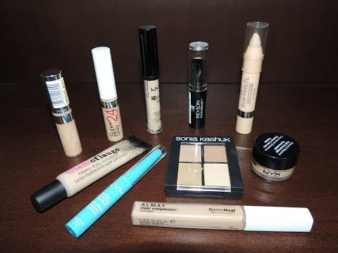 Best & Worst Drugstore Concealers for Acne / Blemishes