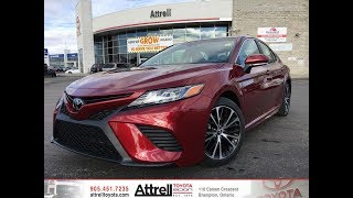 2018 Toyota Camry SE Upgrade Package Review Brampton ON - Attrell Toyota