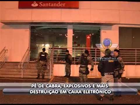 Agência de banco é arrombada na Av. Rondon Pacheco