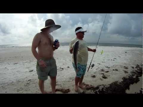 Dauphin Island Redfish: Filmed With A GoPro Hero