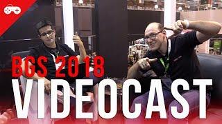 VideoCast diretamente da BGS 2018 AO VIVO: um pouco de hardware e muitos games!