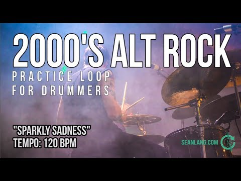 2000s Alt Rock - Drumless Track For Drummers -