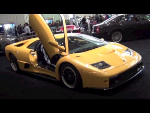Amazing Car - 2013 Lamborghini Diablo GT is the Best Car in the World Ever - Portland Auto Show 2013
