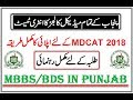 Complete Guide to Apply for MDCAT 2018 !! UHS Entry Test for MBBS/BDS