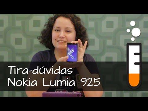 Lumia 925 Nokia Smartphone - Vídeo Perguntas e Respostas Brasil
