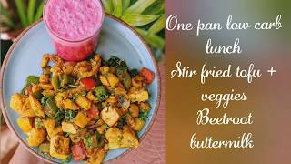 One pan low carb lunch / meal ideas || Weight loss recipes || Fat loss recipe ideas