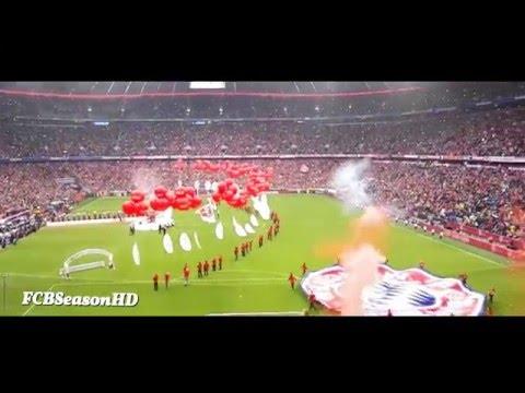 FC Bayern München vs Hannover 96 - Meisterfeier Allianz Arena 14/05/2016 HD