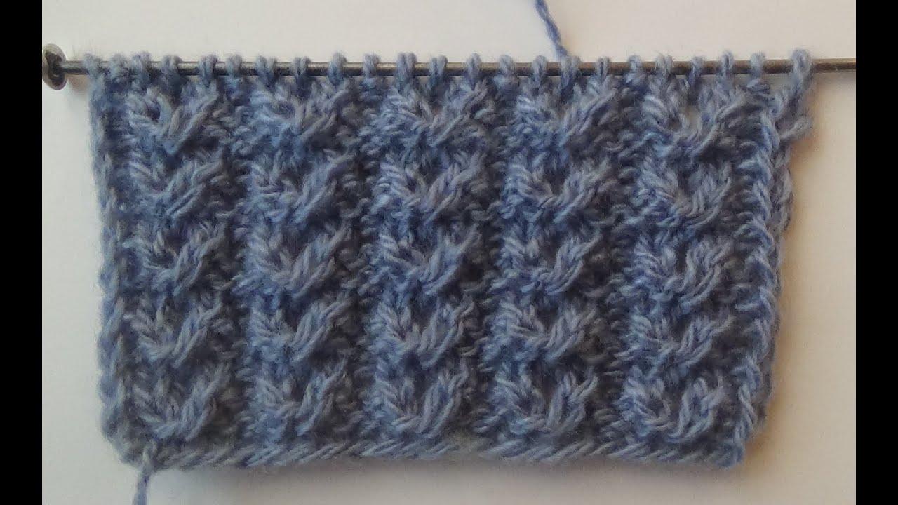Вязания узора гусиные лапки спицами