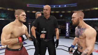 Khabib vs. Conor McGregor rematch (EA Sports UFC 3) - CPU vs. CPU