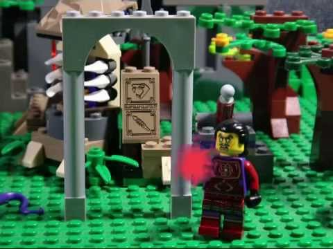LEGO NINJAGO THE MOVIE PART 15 DAWN OF A NEW EVIL