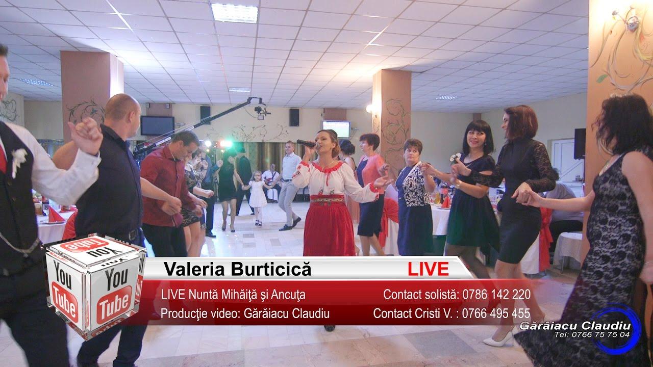 Valeria Burticica | LIVE Colaje HORA, Petrecere, Joc si Voie Buna | Nunta Mihaita si Ancuta
