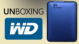 Unboxing Western Digital My Passport 1TB 2.5 USB 3.0 Silver Обзор и отзывы