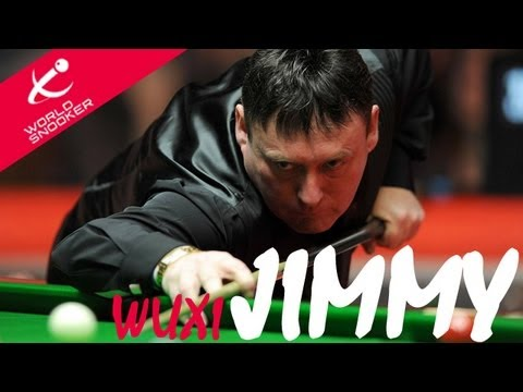 Jimmy White after defeating the holding Wuxi Champion, Walden